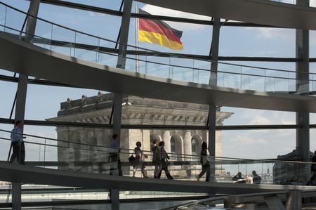Bild des Reichstagsgebäudes.